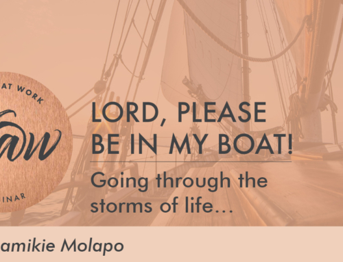 Lord, please be in my boat!