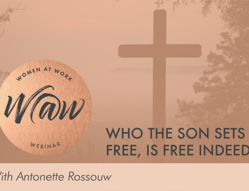 Who the Son sets free, is free indeed!